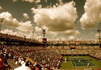 Tennis Match: Go Federer